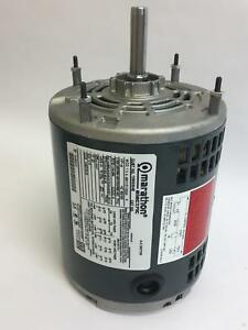 Marathon Electric A C Motor 6 5 12600304e 3 Phase 1 8 Horse Power 48h11d11002a