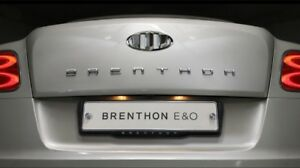 Brenthon New Chrome Wide Lettering Emblem Badge For Hyunda Kia Universal Vehicle