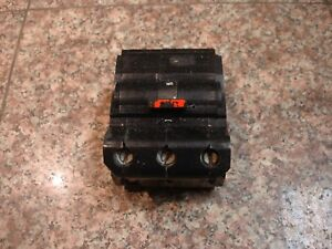 Na3100 Fpe federal Pacific Snap On 3 Pole 100a Circuit Breaker