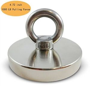 1000 Lbs Pulling Force 453kg Powerful Round Neodymium Magnet With Countersunk