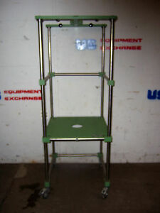 9647 Chemglass Reactor Support Stand On Wheels
