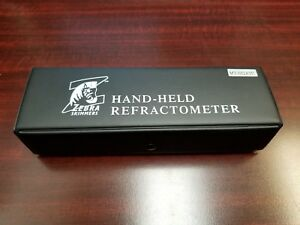 Refractometer Hand Held By Zebra Skimmers Mt 032atc New With Free Shipping