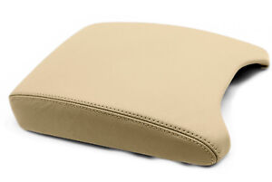 Center Console Armrest Leather Synthetic Cover For 2000 2006 Bmw X5 E53 Beige