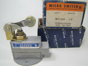 Bzv6 2rq2 Unused Honeywell Micro Switch Limit Switch Complete Assembly