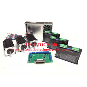 3 Axis Cnc Kit Nema 23 381oz in 3 5a Stepper Motor C10 Breakout Board Kl 5056