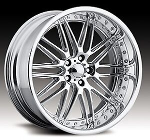 Pro Wheels Formula 17 Polished Aluminum Billet Wheels Rims Forged Niche Intro