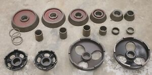 Accuturn Or Ammco 1 7 8 Arbor Truck Adapter Set For Brake Lathe Cones Adapters
