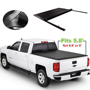 5 8 Bed Roll Up Tonneau Cover For Chevy Silverado 2007 2013 Gmc Sierra Jdmspeed