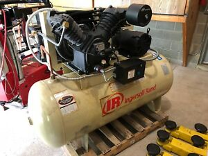 Ingerson Rand Air Compressor With Refrigerated Air Dryer 10hp 120 Gallon