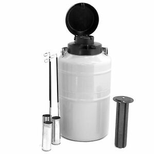 Hfs tm 3 L Cryogenic Container Liquid Nitrogen Ln2 Tank With Straps And Carry
