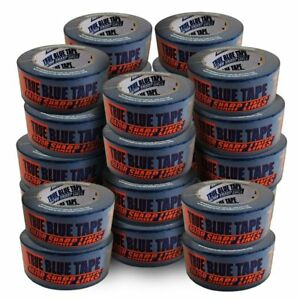 24 Roll Case Of 2 Inch Blue Painters Tape Buy In Bulk Save Big