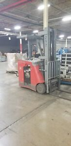 Raymond Electric Stand Up Forklift Mdl Dss 350tt 3500 Lb Capacity