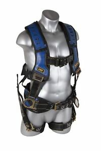Guardian Fall Protection 193131 Construction Premium Edge Harness With Quick