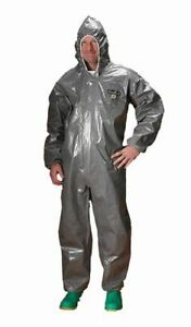 Lakeland Chemmax 3 Heat Sealed Taped Seam Coverall With Hood Disposable
