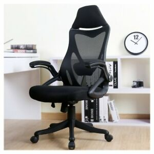 Zenith High Back Mesh Office Chair With Adjustable Armrest Lumbar Support