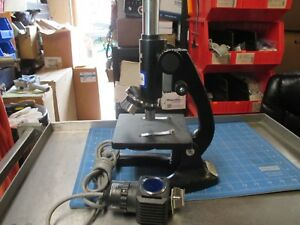Boreal Student Lab Bio Microscope 55840 02 With 4x 10x And 40x Objectives Nice