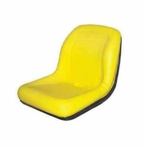 Tm333yl Yellow Michigan Style Seat No Slide Track For Bobcat Skid Steer Loader