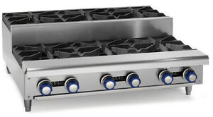 Imperial Range Ihpa 4 24su 24 Gas Countertop Step up Hotplate With 4 Burners