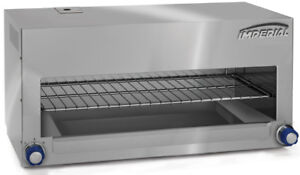 Imperial Range Icma 36 e 36 Electric 6kw Cheesemelter With Incoloy Elements