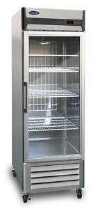 Nor lake Nlr23 g 23 Cu Ft Electronic Control Reach in Refrigerator 1 section