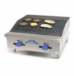 Comstock Castle Fhp24 2rb 24 Radiant Gas Char Broiler Counter Top