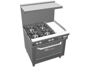 Southbend 4363d 1g Ultimate 36 Gas Star Burner Range W 12 Griddle