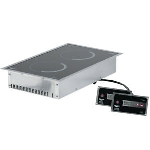 Vollrath 69524 Professional Series Induction Range Drop in Front To Back