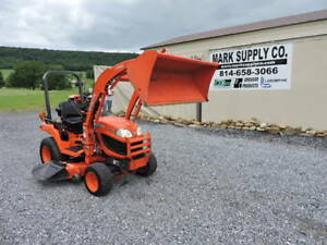 2010 Kubota Bx2360 Sub Compact Tractor Loader Belly Mower Diesel 4x4 Pto 3 Point
