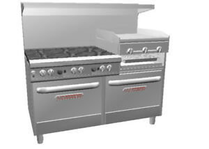 Southbend 4601aa 2rr Ultimate 60 Range W 24 Griddle Broiler