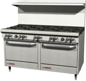 Southbend S60aa S series 60 Range W 10 Burner 2 Convection Ovens