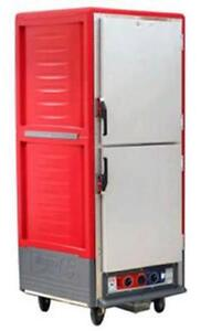 Metro C539 hds 4 Full Height Heated Holding Cabinet W Fixed Wire Pan Slides