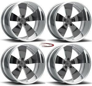Pro Wheels Wicked 18 Polished Aluminum Forged Wheels Rims Line Foose Intro Boyd