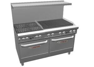 Southbend Ultimate Range W 36 Charbroiler Wavy Grates 2 Std Ovens