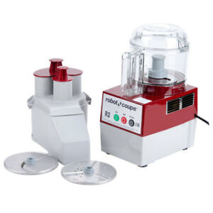 Robot Coupe R2nclr Commercial Food Processor W 3 Quart Clear Bowl