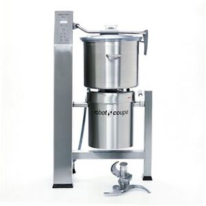 Robot Coupe R45t 47 Qt Vertical Food Cutter Mixer With 3 Blade Assembly S s