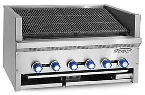 Imperial Range Iabs 24 Steakhouse 4 Burner 24 Countertop Charbroiler Gas