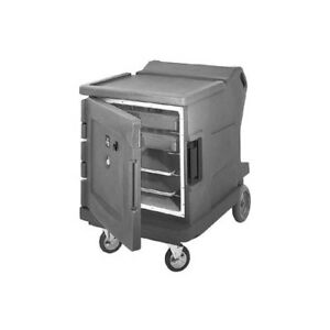 Cambro Cmbhc1826lc191 Camtherm Low Profile Electric Hot cold Cart Gray