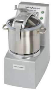 Robot Coupe Blixer8 Vertical Food Mixer Blender 3 Hp W 8 Quart Stainless Bowl