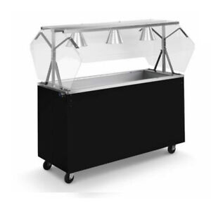 Vollrath 3895146 Affordable Portable 46 3 Well Cold Food Station