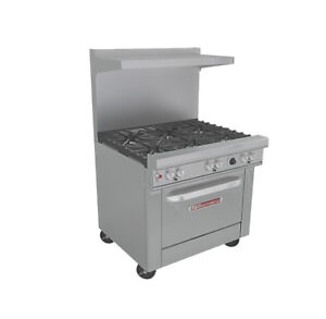 Southbend 4361a Ultimate Series 36 Range W 6 Burners Convection Oven