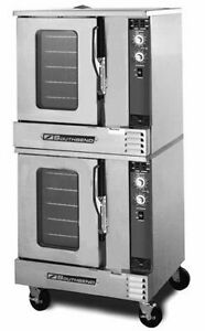 Southbend Gh 20sc Half Size Double Stack Convection Oven Gas Standard Depth
