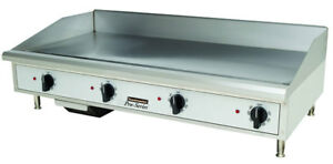 Toastmaster Tmgm48 Countertop 48 Manual Control Gas Griddle
