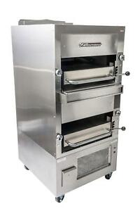 Southbend 270 34 Double Deck Upright Infrared Broiler Gas Free Standing
