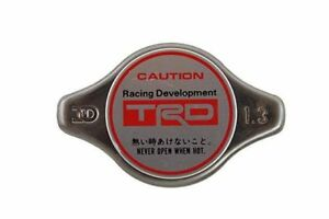 Genuine Toyota Trd Radiator Cap N Type With Trd Logo 18 5 Psi Ptr04 00000 03
