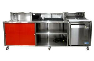 Porta Sink All Stainless Steel Self contained Portable Sushi Bar 2 0