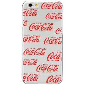 Coca-Cola iPhone6 Hard Case LOGOPATTERN RED w/Tracking# form JAPAN Free shipping