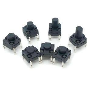 Tactile Switch Waterproof 4 pin 6x6x4 3mm 14mm Micro Tact Push Button Switch