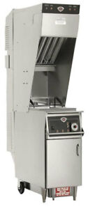 Wells Wvae 55fc 55 Lb Electric Ventless Open Fryer With Built In Oil Filter