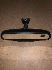 2003 09 Chevy Gmc Gntx 261 Rearview Mirror 6974 Dual Compass Temp 15176974
