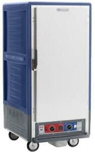 Metro C537 cfs l bu 3 4 Mobile Holding proofing Cabinet Lip Load W Solid Door